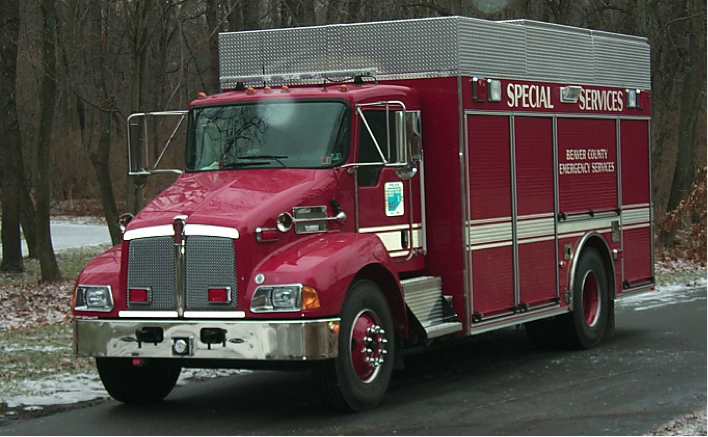 Beaver County Special Services Truck
